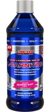 Image for AllMax Nutrition - Liquid L-Carnitine