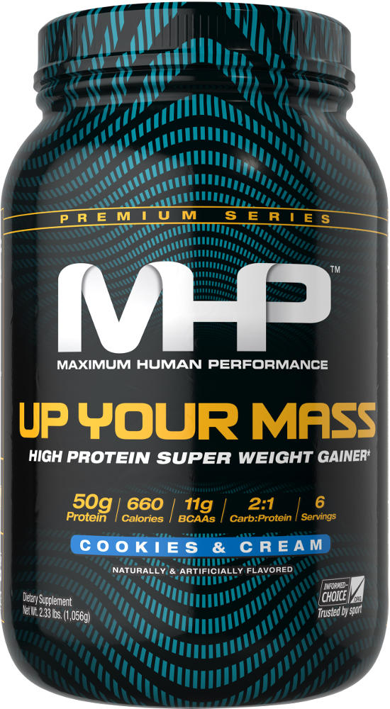 MHP Up Your Mass – 2lbs Cookies & Cream
