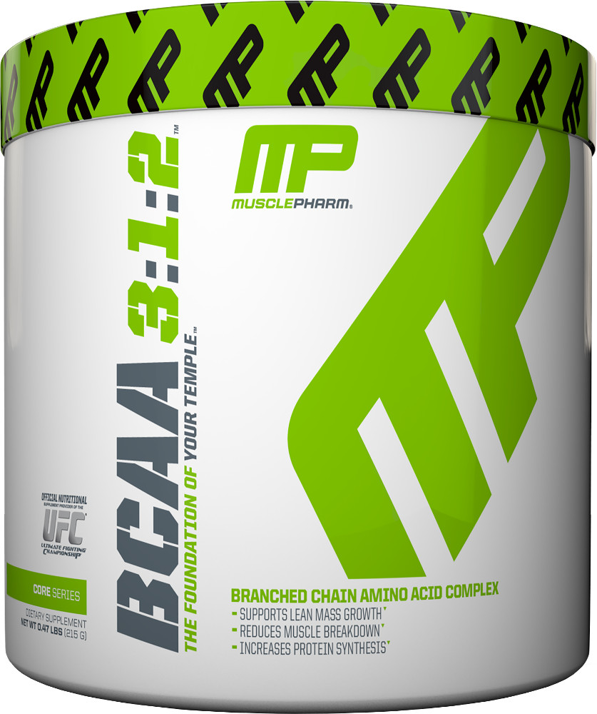 MusclePharm BCAA 3:1:2 Powder - 30 Servings Unflavored