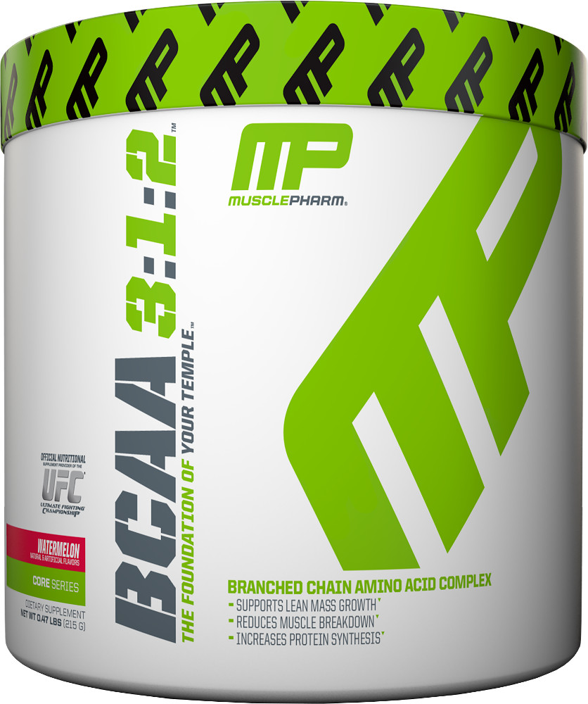 MusclePharm BCAA 3:1:2 Powder - 30 Servings Watermelon