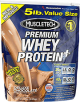 MuscleTech Premium Whey Protein Plus – 5lbs Strawberry
