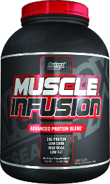 Nutrex Muscle Infusion Black Series - 5lbs Vanilla