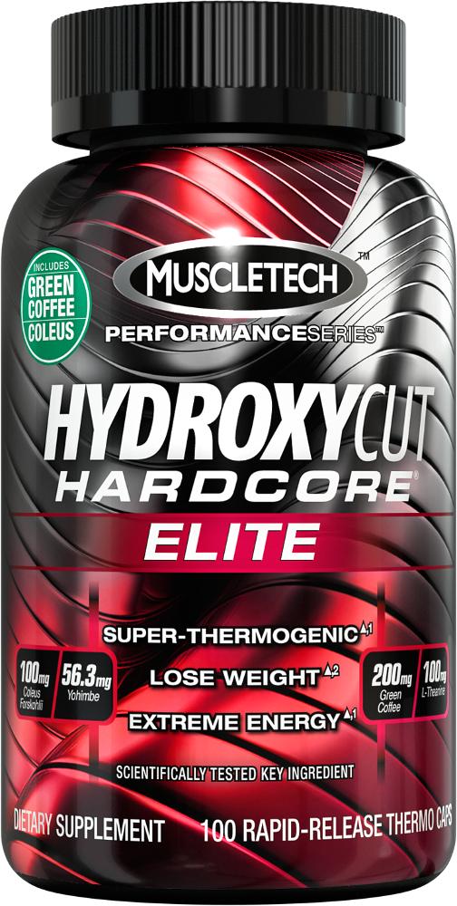 MuscleTech Hydroxycut Hardcore Elite - 100 Capsules