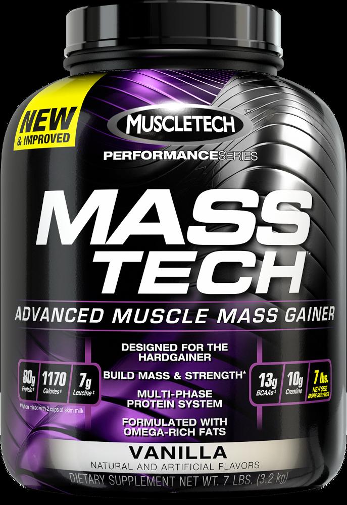 MuscleTech Mass-Tech - 7lbs Vanilla
