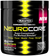 MuscleTech NeuroCore: Buy 2 Get 1 FREE - 45 Servings Fruit Punch