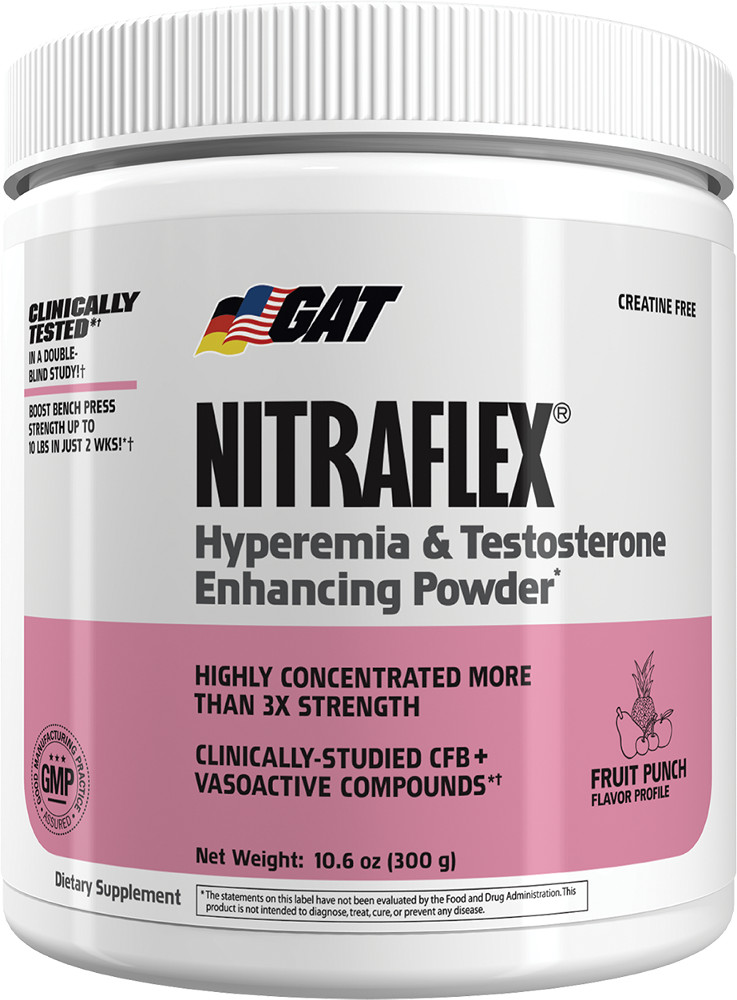 GAT Sport Nitraflex - 30 Servings Fruit Punch