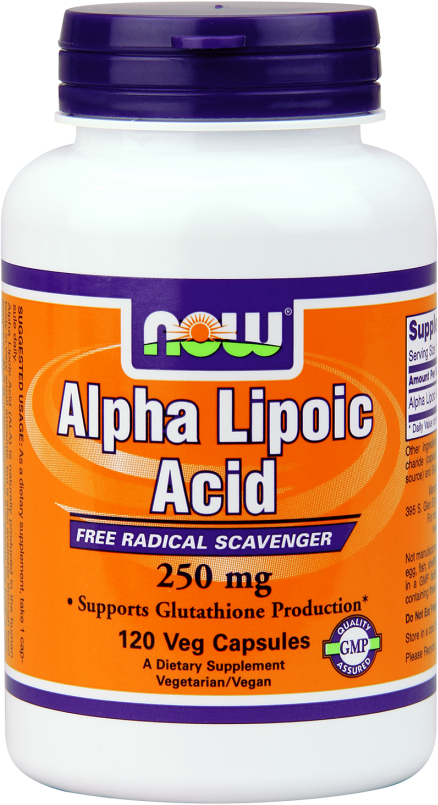 NOW Foods Alpha Lipoic Acid 250 - 120 VCaps