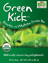 Image for NOW - Green Kick Tea