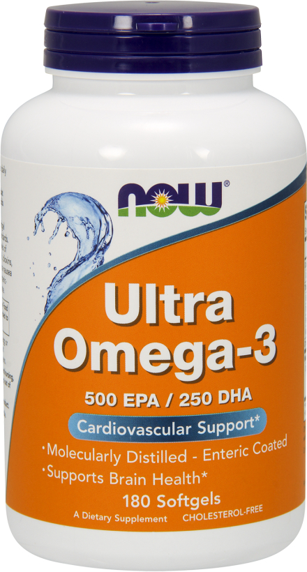 NOW Foods Ultra Omega-3 - 180 Softgels