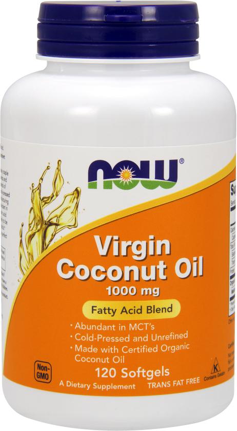 NOW Foods Virgin Coconut Oil - 120 Softgels