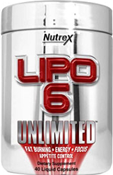 Nutrex Lipo-6 Unlimited - 40 Liquid Capsules