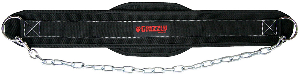 Image of Grizzly Fitness Nylon Dipping Belt - 1 Belt