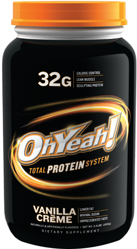 ISS Oh Yeah! Total Protein System – 2.4lbs Vanilla Creme