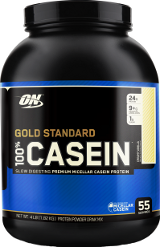 Optimum Nutrition 100% Casein Gold Standard - 4lbs Banana Cream