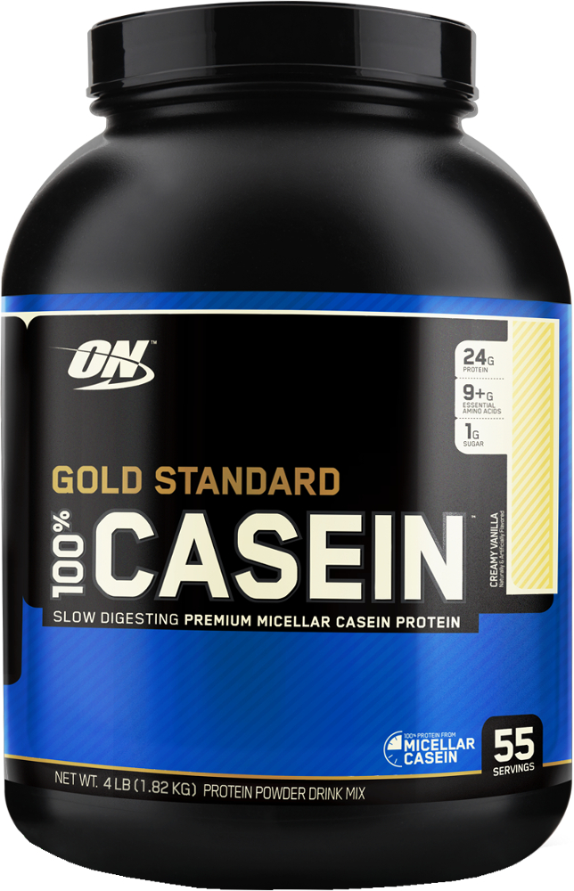 Optimum Nutrition Gold Standard 100% Casein - 4lbs Creamy Vanilla