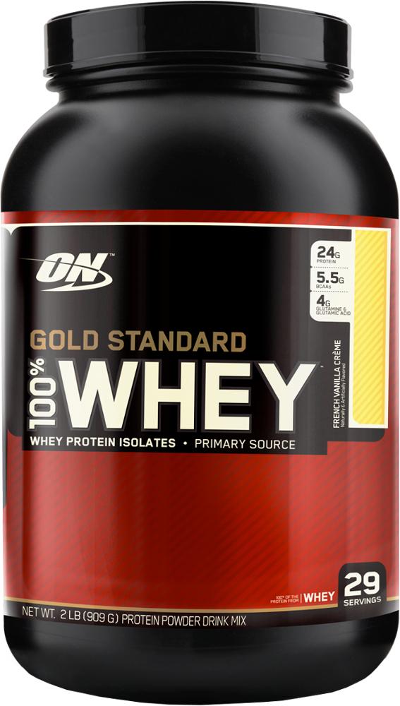 Optimum Nutrition Gold Standard 100% Whey - 2lbs French Vanilla Crème