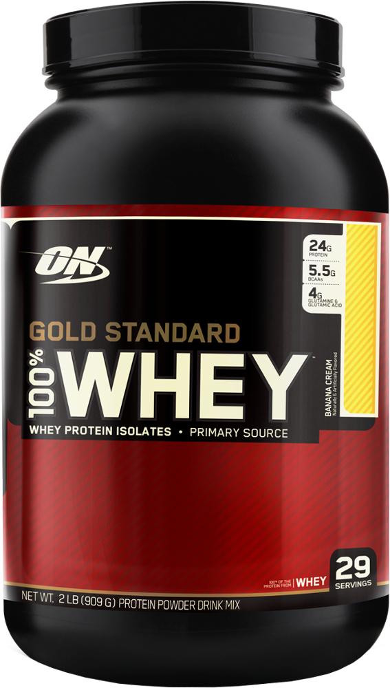 Optimum Nutrition Gold Standard 100% Whey - 2lbs Banana Cream