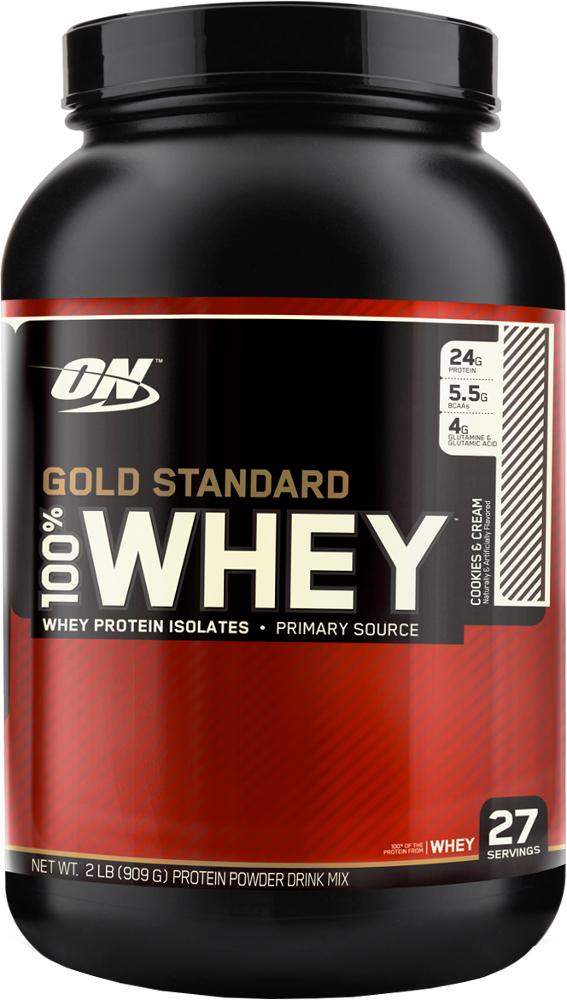 Optimum Nutrition Gold Standard 100% Whey - 2lbs Cookies & Cream