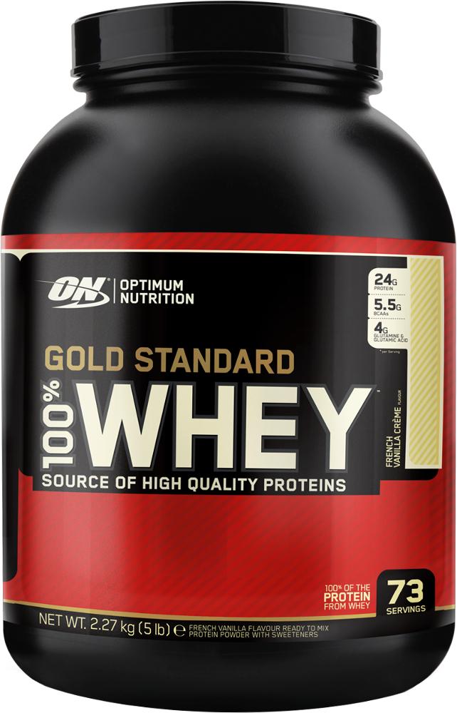 Optimum Nutrition Gold Standard 100% Whey - 5lbs French Vanilla Crème