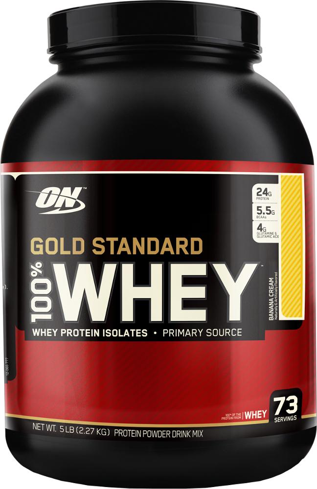 Optimum Nutrition Gold Standard 100% Whey - 5lbs Banana Cream