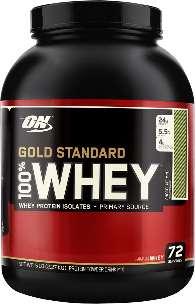 Optimum Nutrition Gold Standard 100% Whey - 5lbs Chocolate Mint