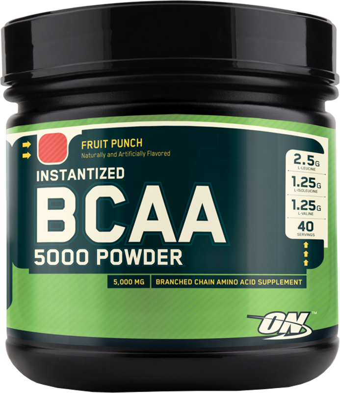 Optimum Nutrition Instantized BCAA 5000 Powder - 40 Servings Fruit Pun