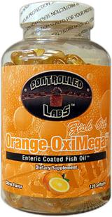 Controlled Labs Orange OxiMega Fish Oil - 120 Softgels