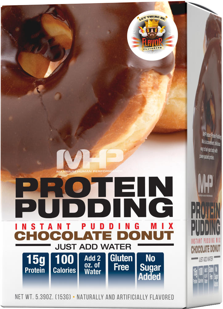 MHP Protein Pudding - 1 Packet Chocolate Donut