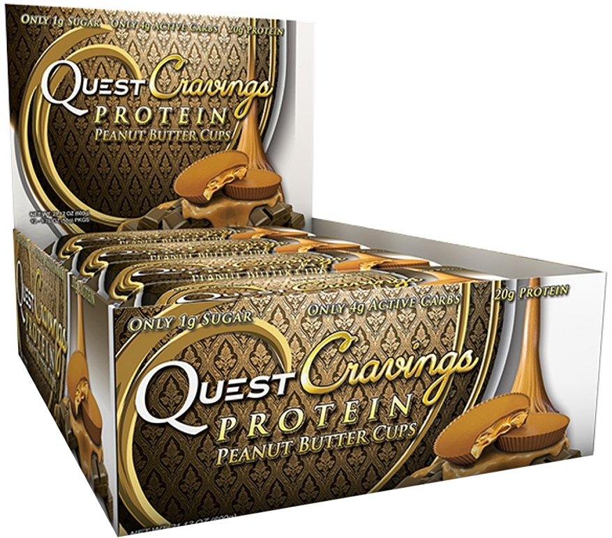 Quest Nutrition Cravings - Box of 12 Peanut Butter Cups QUE0007