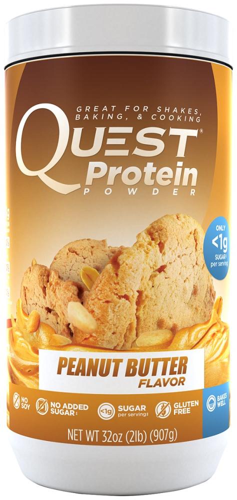 Quest Nutrition Quest Protein Powder - 2lb Peanut Butter QUE0046