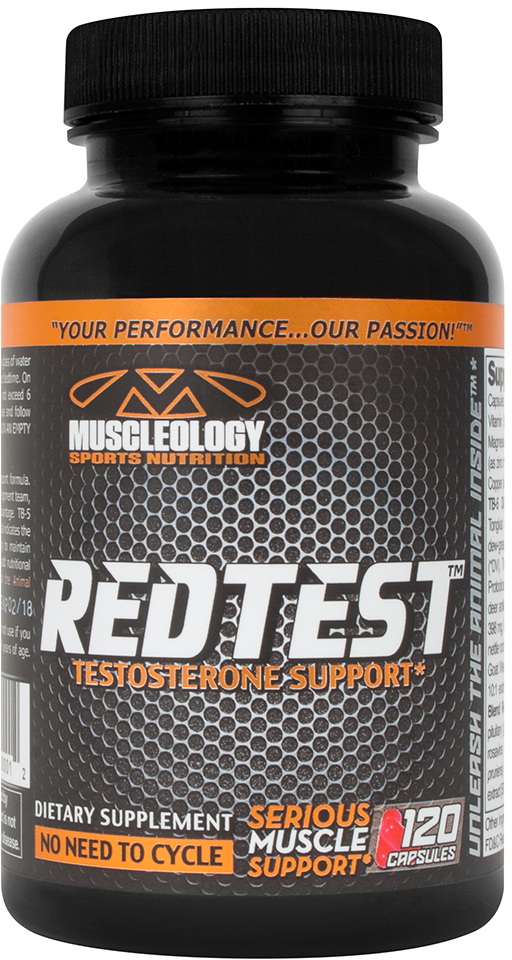 Muscleology RedTest - 120 Capsules