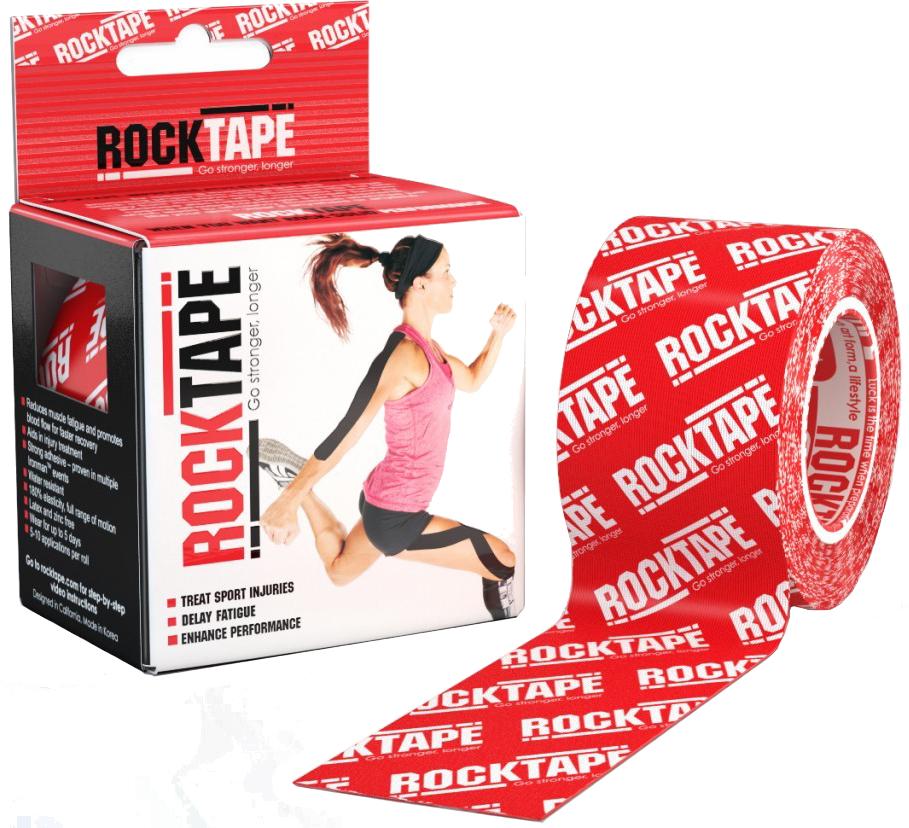 RockTape RockTape - 1 5cm x 5m Roll Black Logo
