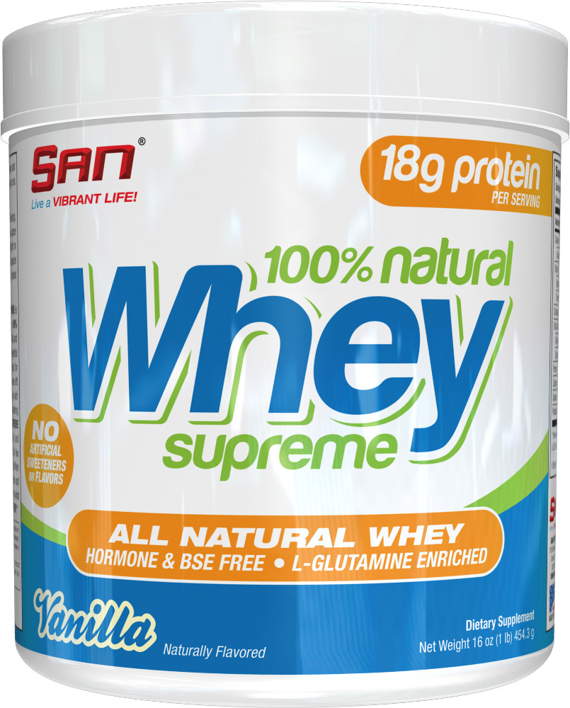 Image for S.A.N. - 100% Natural Whey