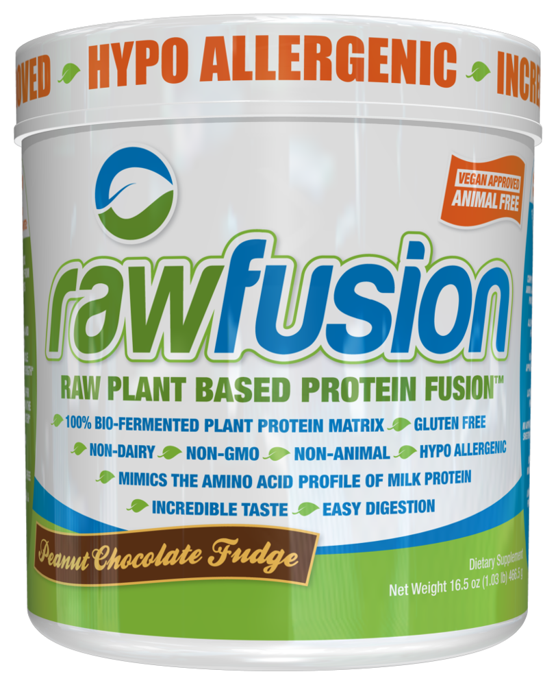 SAN Raw Fusion - 2lb Rich Chocolate