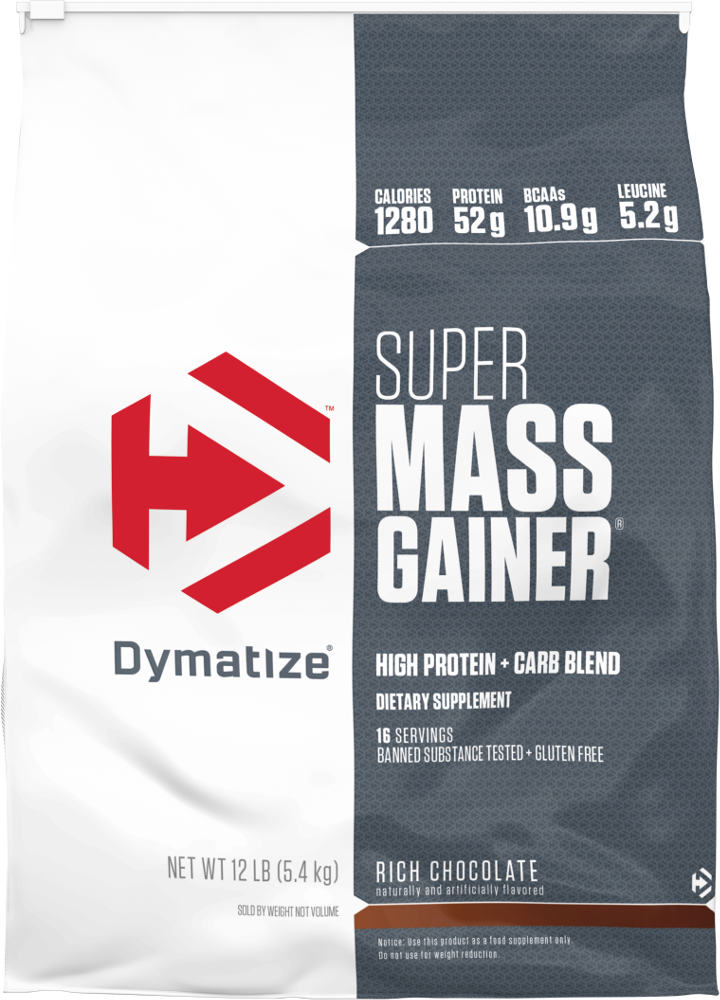 Dymatize Super Mass Gainer – 12lbs Cookies & Cream
