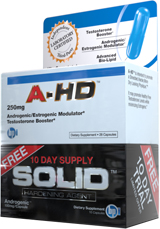 BPI Sports A-HD + FREE SOLID 10 Day Trial - 28 Capsules