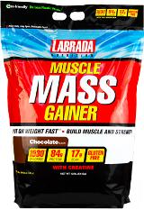 Labrada Nutrition Muscle Mass Gainer - 12lbs Vanilla