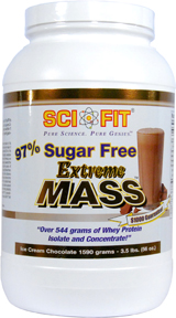 Image for SciFit - 97% Sugar Free Extreme Mass