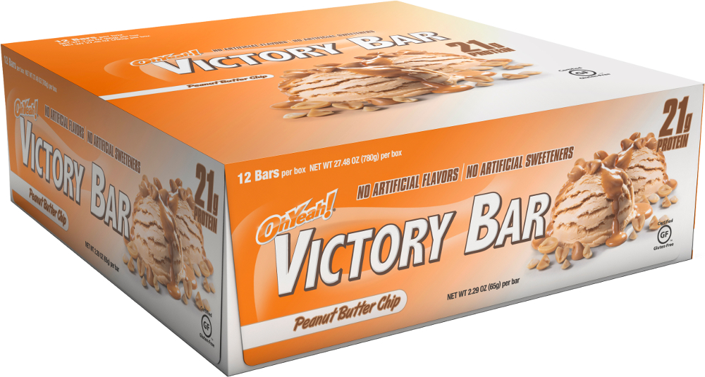 Image of ISS Oh Yeah! Victory Bars - Box of 12 Peanut Butter Chip