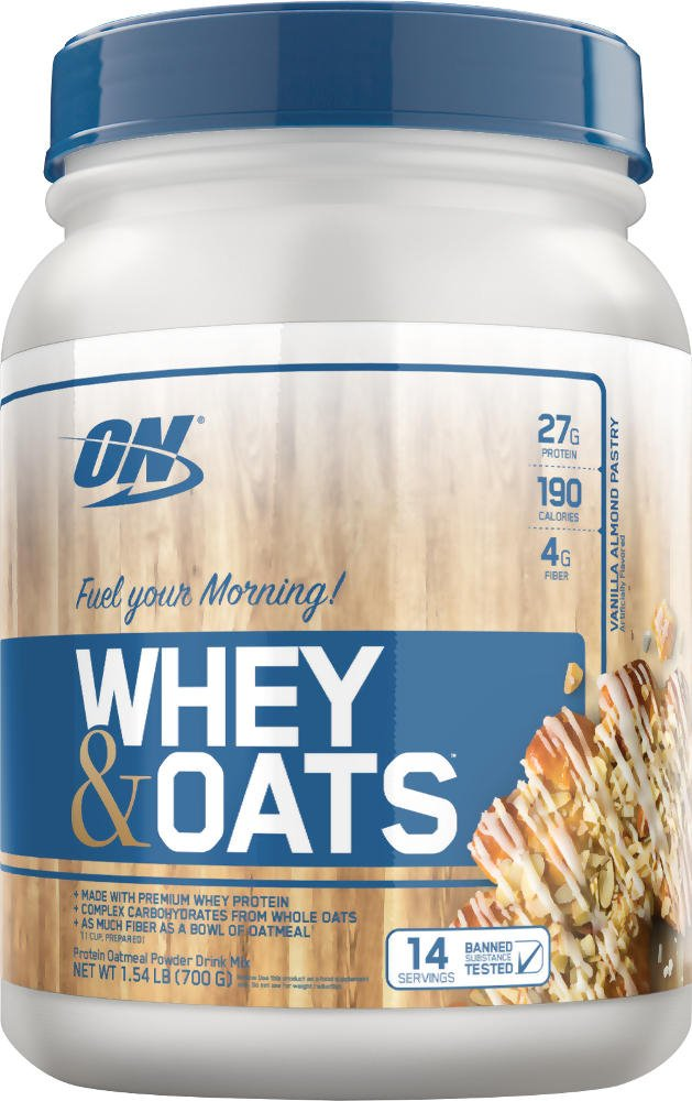 Optimum Nutrition Whey & Oats – 14 Servings Vanilla Almond Pastry
