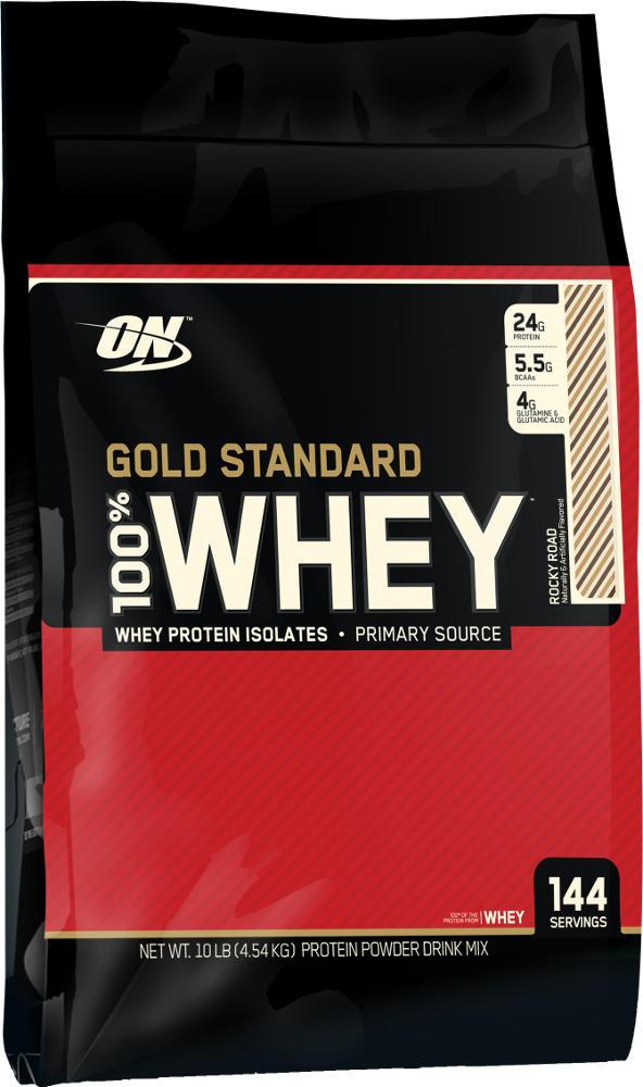 Optimum Nutrition Gold Standard 100% Whey - 10lbs Rocky Road