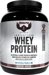 Image for ImSoAlpha - Instantized Whey Protein