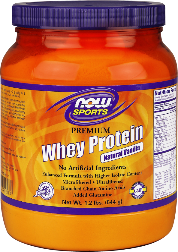 NOW Foods Whey Protein   10lbs Natural Vanilla