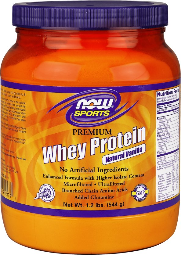 NOW Foods Whey Protein - 10lbs Natural Dutch Chocolate