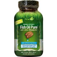 Irwin Naturals Fish Oil Pure, 60 Softgels