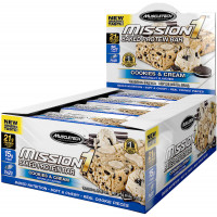 MuscleTech Mission1 Bar, Box of 12
