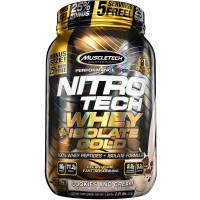 Nitro-Tech Whey Plus Isolate Gold, 2lbs