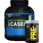 FREE Platinum Pre with ON Casein Protein