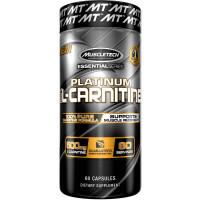 Platinum 100% L-Carnitine, 60 Capsules