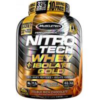 Nitro-Tech Whey Plus Isolate Gold, 4lbs
